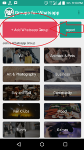 Promote your whatsapp group