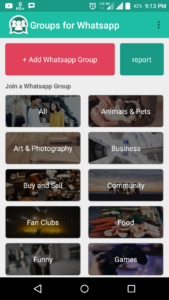What'sapp Group Category