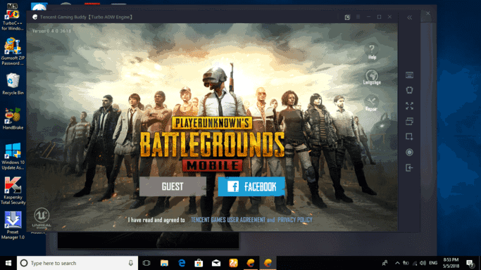 pubg mobile offical emulator