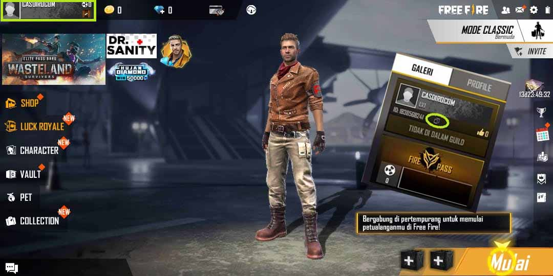 How To Copy Free Fire Id Can Hack The Latest Ff Account 2020