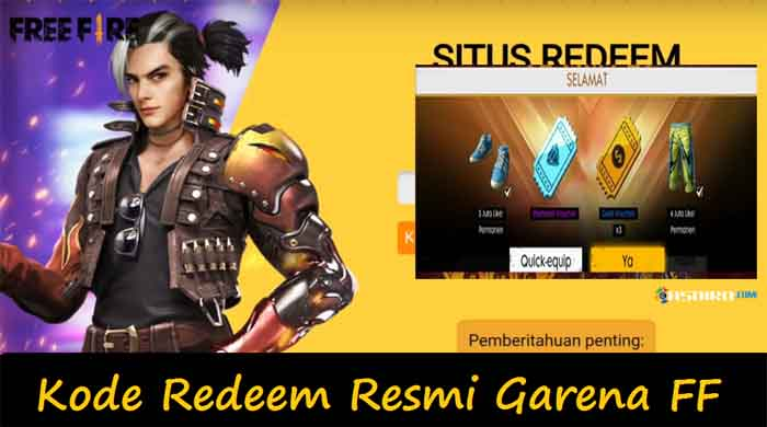 Garena S Official Ff Redeem Code Is Still The Latest 2020
