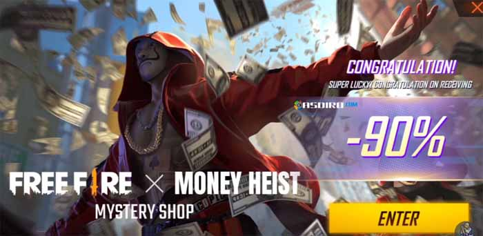 Mystery Shop FF Free Fire September 2020 Has Arrived! 90% discount