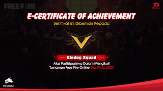 Download Free Fire Certificate