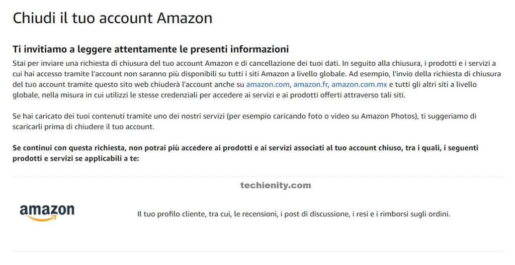 How to Cancel Amazon Account