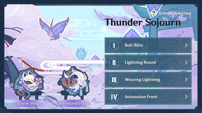 Genshin Impact Version 2.0 launches Thunder Sojourn: Everything you need to know about the first event in the Inazuma region.